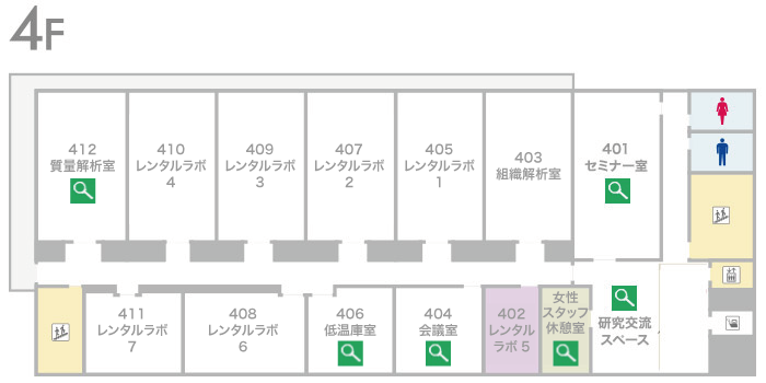 藤井節郎記念医科学センター4階